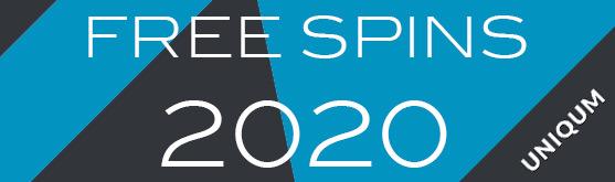 free spins 2020 uniqum